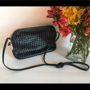 ❤️ Vintage Ganson Woven Crossbody Bag